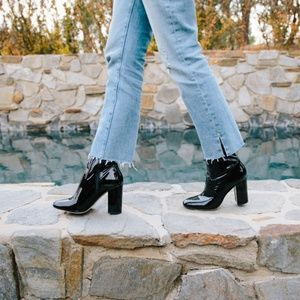 Aldo | Sz 10 Aurella Black Block Heel Ankle Boot